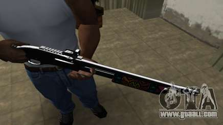 National Shotgun for GTA San Andreas