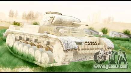 Panzerkampwagen II Desert for GTA San Andreas