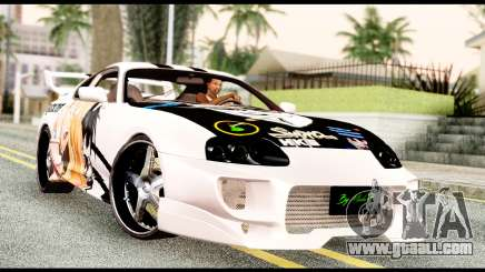 Toyota Supra Full Tuning v2 for GTA San Andreas
