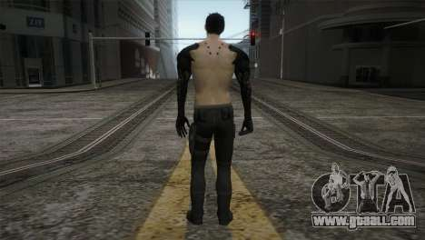 Adam Jensen for GTA San Andreas third screenshot