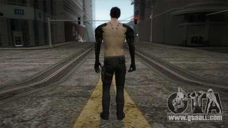 Adam Jensen for GTA San Andreas third screenshot