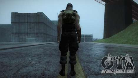 Bane from Bartman Movie for GTA San Andreas third screenshot