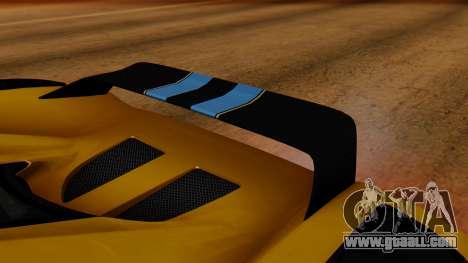 Koenigsegg Agera 2011 for GTA San Andreas inner view
