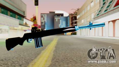 Fulmicotone Rifle for GTA San Andreas