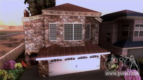 The mansion in the style of Scarface for GTA San Andreas