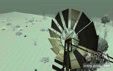 Winter Timecyc for GTA San Andreas