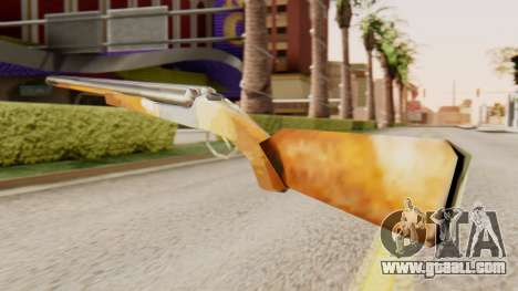 Full version double shotguns for GTA San Andreas second screenshot