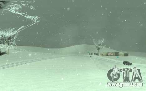 Winter Timecyc for GTA San Andreas third screenshot