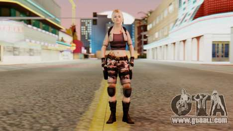 Wild Child from Resident Evil Racoon City for GTA San Andreas second screenshot