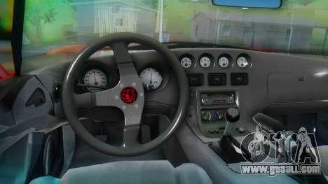 Dodge Viper RT-10 1992 for GTA San Andreas right view