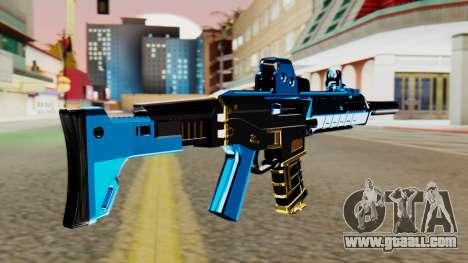 Fulmicotone M4 for GTA San Andreas second screenshot
