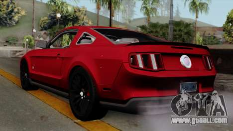 Ford Mustang GT 2010 for GTA San Andreas left view