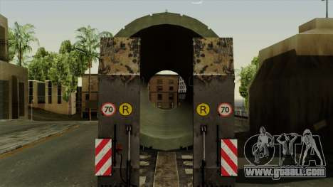 Trailer Cargos ETS2 New v3 for GTA San Andreas back view