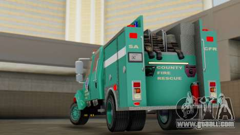 SACFR International Type 3 Rescue Engine for GTA San Andreas left view