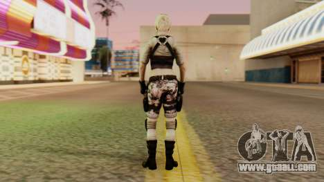Wild Child from Resident Evil Racoon City for GTA San Andreas third screenshot