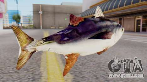 Tuna Fish Weapon for GTA San Andreas second screenshot