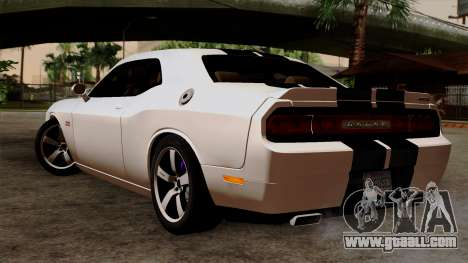 Dodge Challenger SRT8 392 2012 Stock Version 1.0 for GTA San Andreas left view
