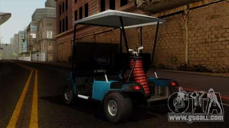 E-Z-GO Golf Cart v1.1 for GTA San Andreas left view