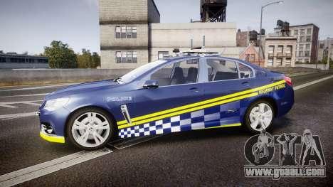 Holden VF Commodore SS Highway Patrol [ELS] v2.0 for GTA 4 left view