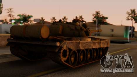 T-55AM Merida for GTA San Andreas left view