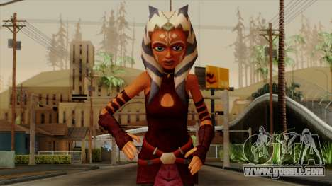 Ahsoka Tano Star Wars for GTA San Andreas