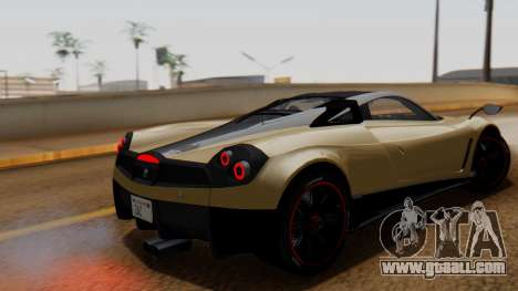 Pegassi Huayra Osiris for GTA San Andreas left view