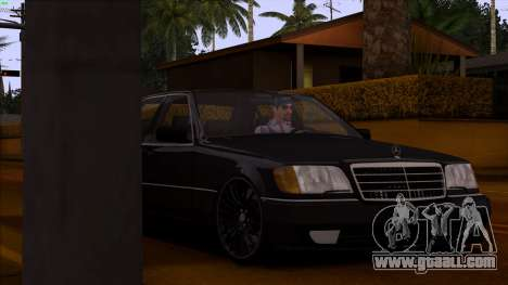 Mercedes-Benz S600 W140 for GTA San Andreas upper view