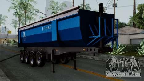 Trailer Tohap for GTA San Andreas
