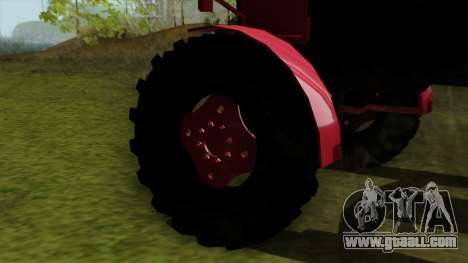 Tractor MTZ80 for GTA San Andreas back left view