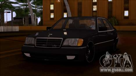 Mercedes-Benz S600 W140 for GTA San Andreas side view