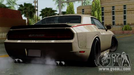 Dodge Challenger GT S for GTA San Andreas left view