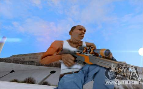 AWP Carbone Edition for GTA San Andreas forth screenshot