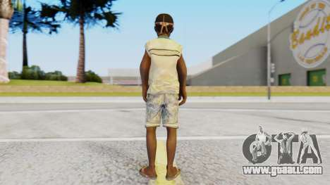 African Child for GTA San Andreas third screenshot