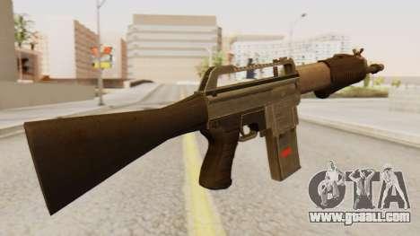 SPAS 15 for GTA San Andreas second screenshot
