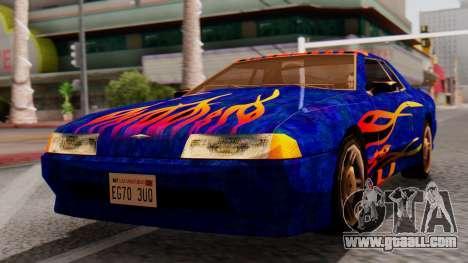 Elegy First Vinyl MQ for GTA San Andreas
