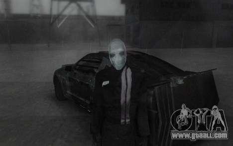 Frankenstein Skin for GTA San Andreas third screenshot