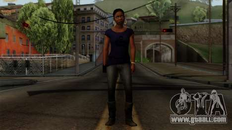 Rochelle New Textures for GTA San Andreas second screenshot
