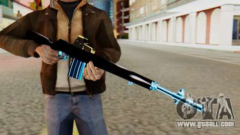 Fulmicotone Rifle for GTA San Andreas third screenshot