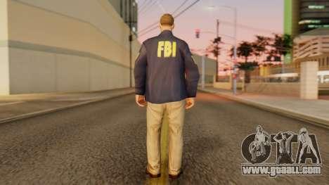 FBI Skin for GTA San Andreas third screenshot