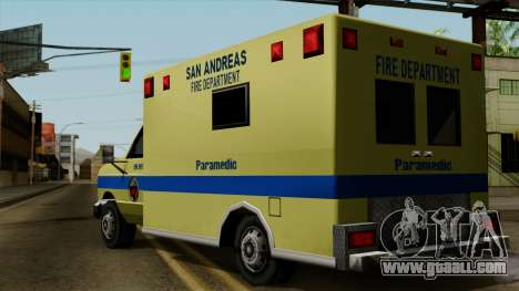 SAFD SAX Rescue Ambulance for GTA San Andreas