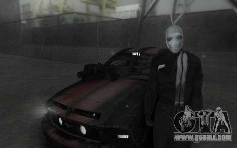 Frankenstein Skin for GTA San Andreas