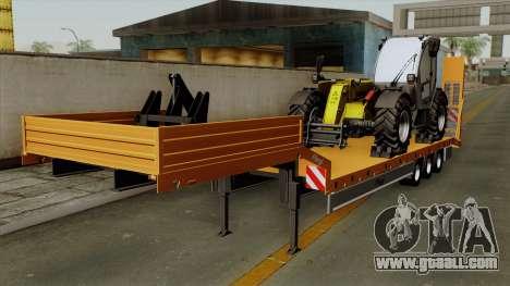 Trailer Fliegl Cargo for GTA San Andreas