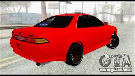 Toyota Mark 2 90 Stock2 for GTA San Andreas left view