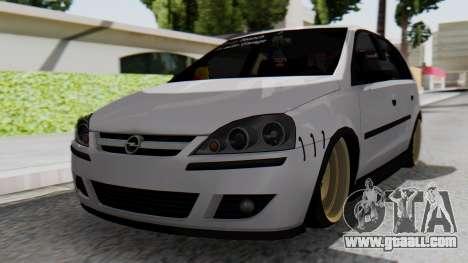 Opel Corsa Air for GTA San Andreas