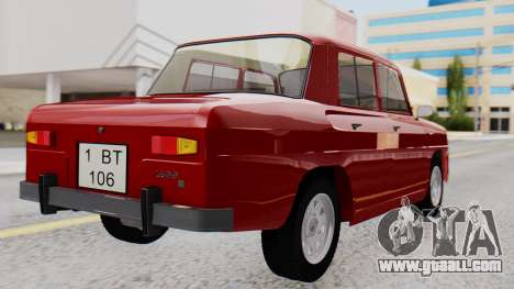 Dacia 1100 Sport for GTA San Andreas left view