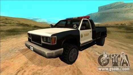 New Yosemite Police v2 for GTA San Andreas