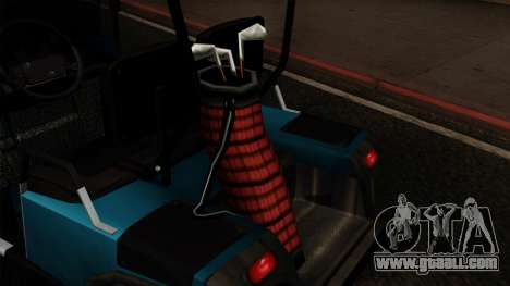 E-Z-GO Golf Cart v1.1 for GTA San Andreas back view