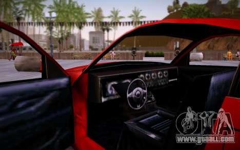 Nissan 350Z SA Style for GTA San Andreas right view