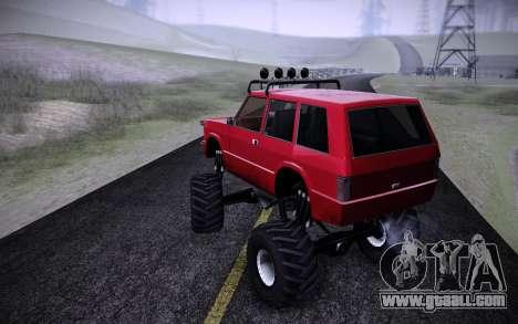 Huntley Monster v3.0 for GTA San Andreas left view