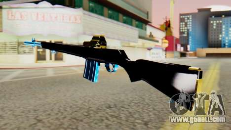 Fulmicotone Rifle for GTA San Andreas second screenshot